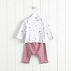 Gingerbread Stripe Pajamas