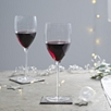Fine Stem Red Wine Glass - Set Of 2