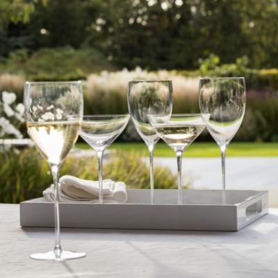 Fine Stem Red Wine Glass - Set Of 2