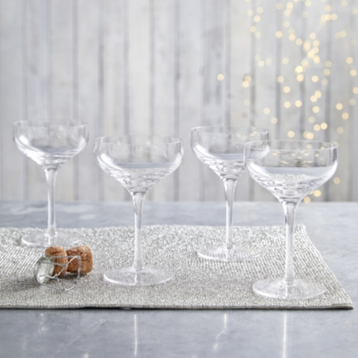 Vintage Champagne Coupes - Set Of 4