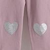 Glitter Heart Leggings