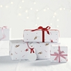 Festive Character Printed Gift Wrap