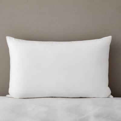 white goose feather u0026 down pillow
