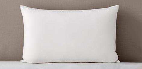 White Goose Feather & Down Pillow