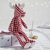 Gingham Reindeer
