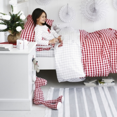 Gingham Reindeer large