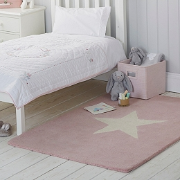 Girls Star Rug