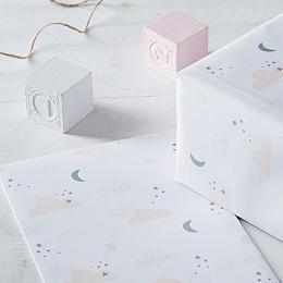 Baby Girl's Gift Wrap