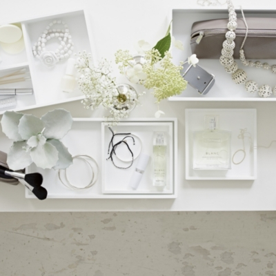 Lacquer Vanity Table Trays   Set Of 3 | Gifts For Her | The White Company US
