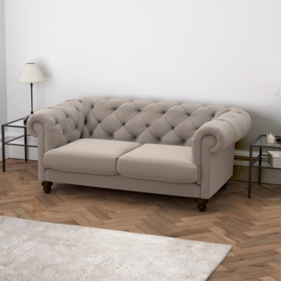 Hampstead Velvet Sofa - 2 Colours