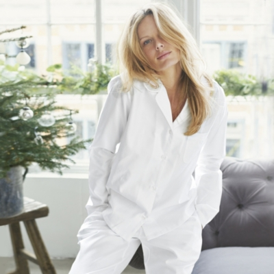Herringbone Pajamas With Bag