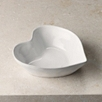 Stoneware Heart Serving Bowl