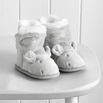 Hippo Baby Booties