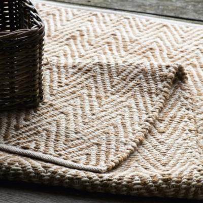 Wool Amp Jute Herringbone Rug Furniture Sale The White