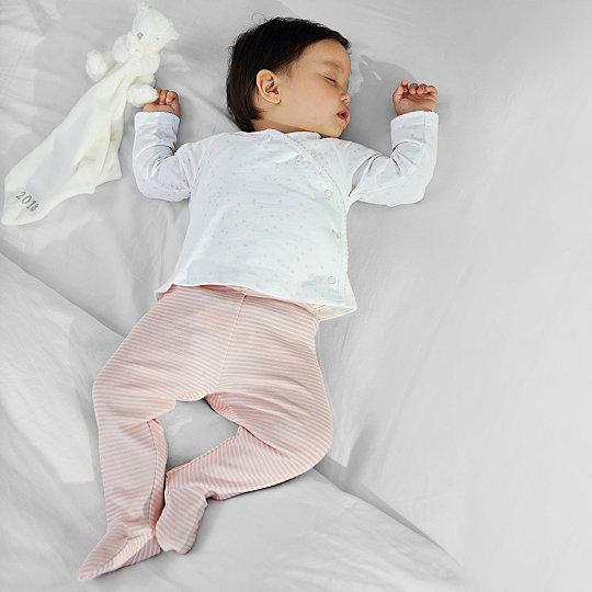Heart Print Wrap Pyjamas Children S Baby Sale The White Company Uk