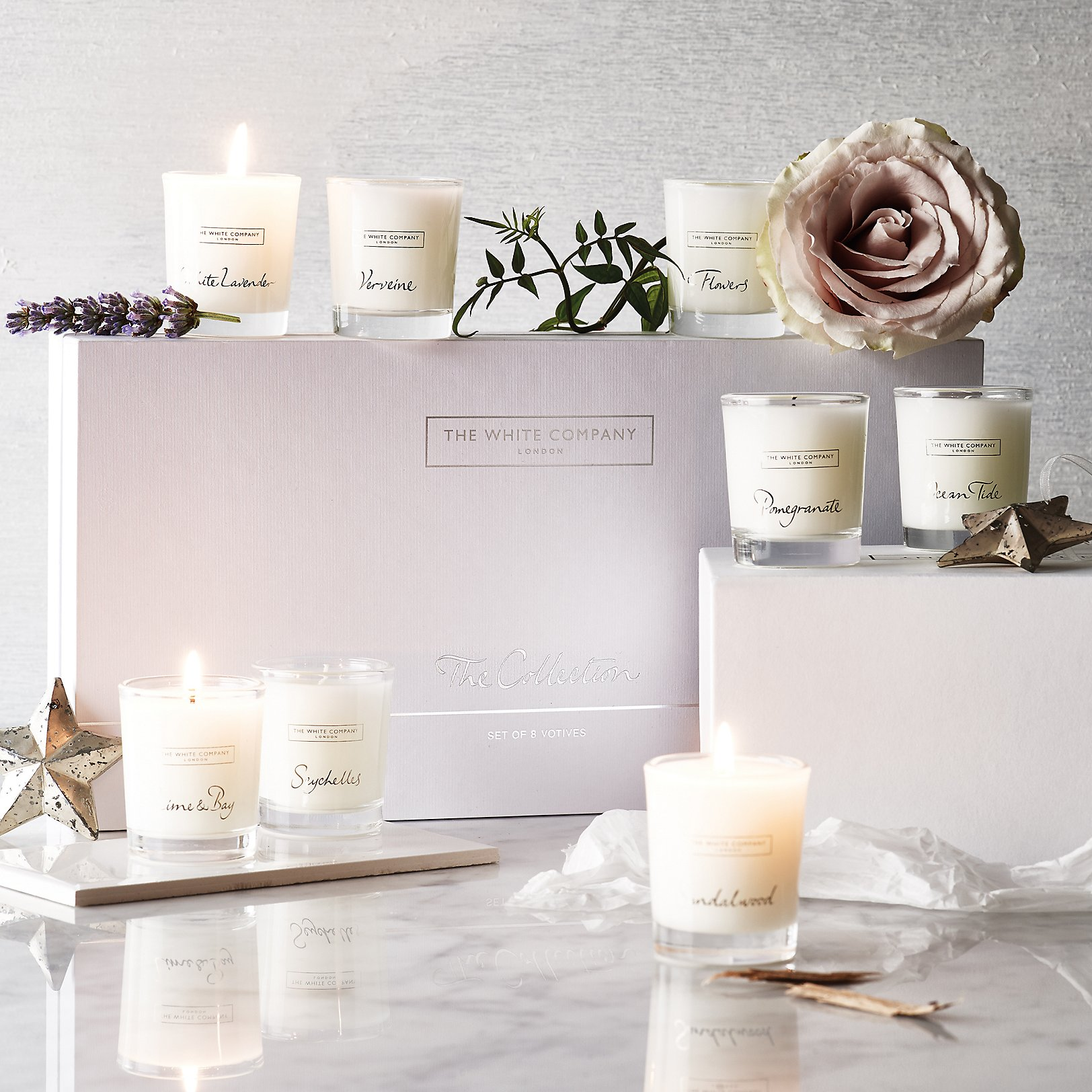 Interior design home fragrance gift set - Votive Candle Collection Set Of 8