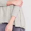 Handkerchief Hem Sweater