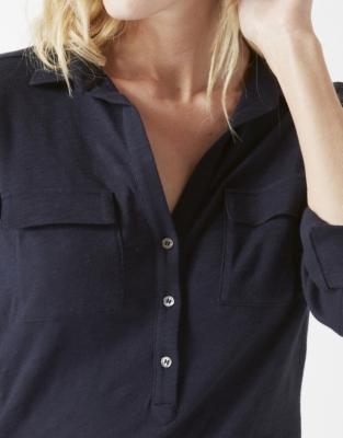 Jersey Shirt - Navy