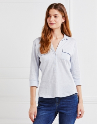 Jersey Shirt - Chalk Blue