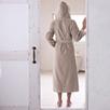 Hooded Velour Robe - Rose