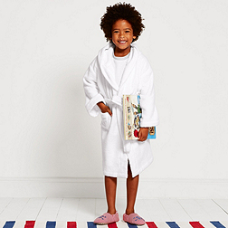 Unisex Hydrocotton Robe - White