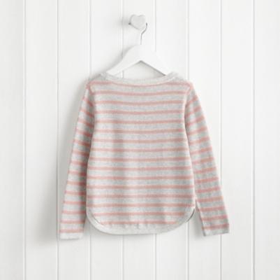 Stripe Curve Hem Sweater (1-5yrs)