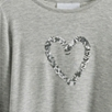Sequin Heart T-shirt