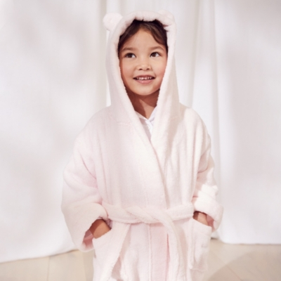Hydrocotton Robe with Ears (2-5yrs) - Pink