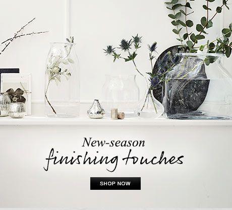 New-season finishing touches