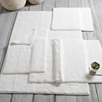 Large Heavyweight Hydrocotton Bath Mat - White