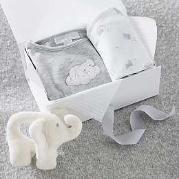 Indy Elephant Baby Gift Set