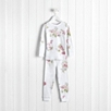 Isabella Floral Flannel Pajamas