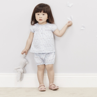 Isla Floral Blouse & Bloomer