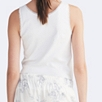 Jersey Lace Trim Sleep Vest