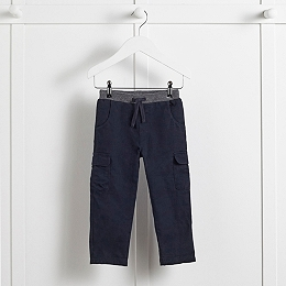Jersey Lined Cargo Trousers (1-6yrs)