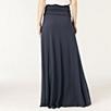 Jersey Fold Top Maxi Skirt - Midnight