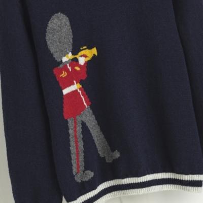 Marching Band Motif Sweater