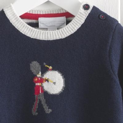 London Drummer Motif Sweater