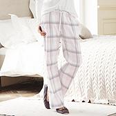 Check Flannel Pyjama Bottoms