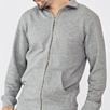 Jersey Loopback Zip Through Jacket