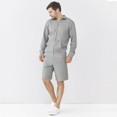 Jersey Loopback Zip Through Jacket