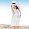 Jersey Waistband Linen Skirt