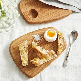 Egg & Soldiers Board – Set of 2