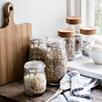 Large Glass Pantry Jar