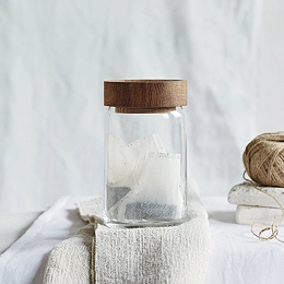 Medium Glass Pantry Jar