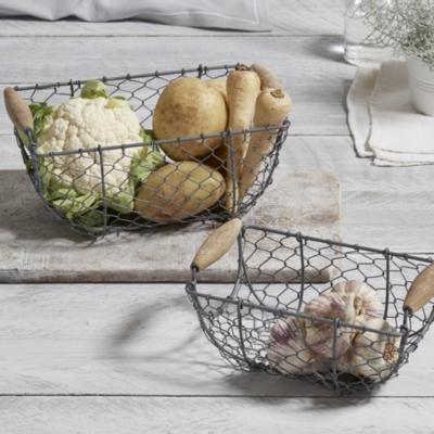 Nesting Wire Baskets s/2