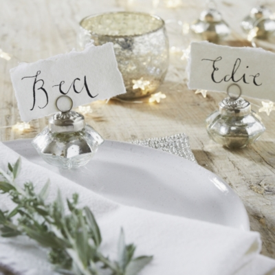 Mini Place Card Holders – Set of 6