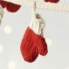 Knitted Mitten Garland