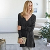 Knitted Hoodie Tunic