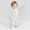Kissing Bear Romper